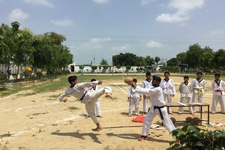 Ketan Covent School-Karate