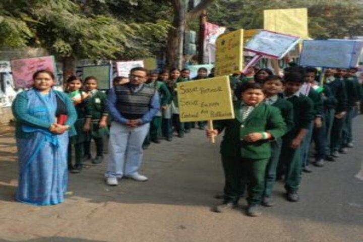 Ketan Covent School-Rally