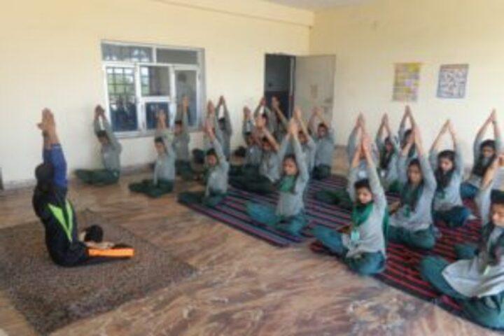 Ketan Covent School-Yoga