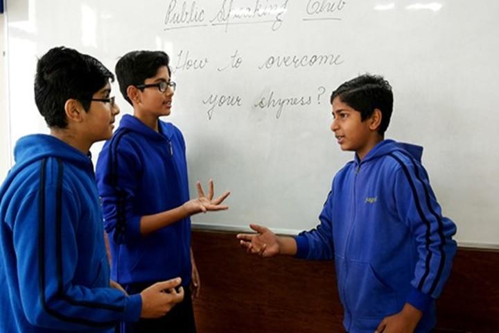 Khaitan Public School-Debate