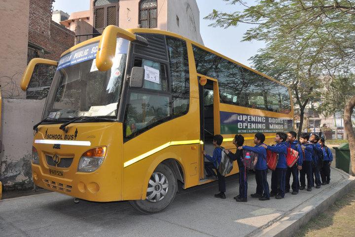 Khaitan Public School-Transportation View
