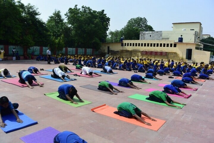Khelgaon Public School-Yoga