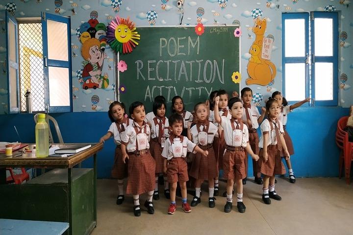 Kids Corner Happy School-Poem Recitation Activity