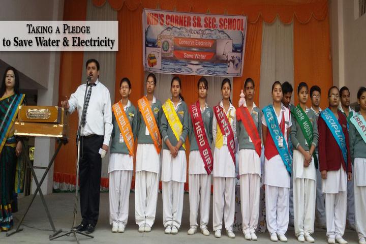 Kids Corner Happy School-Save Water
