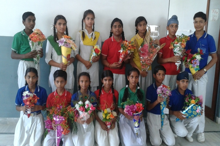 Krishna Academy-Flower Decoration