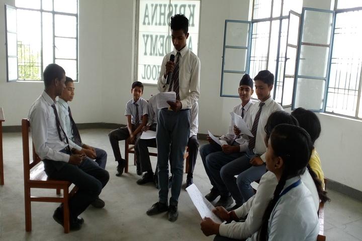 Krishna Academy-Quiz