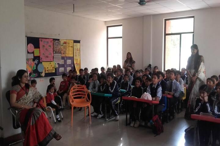 Krishna International School-Classroom View