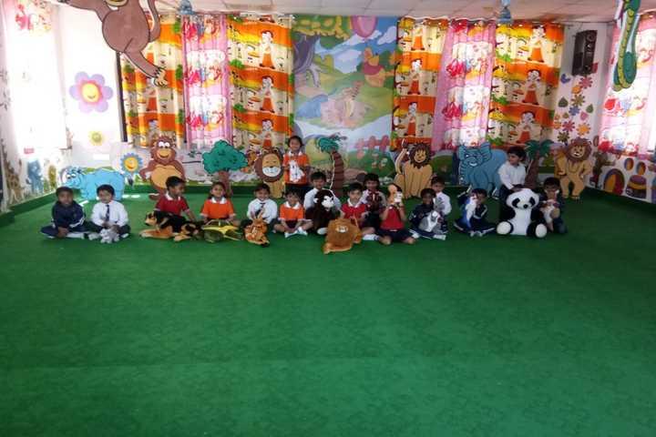 Krishna International School-Jungle Theme Activity