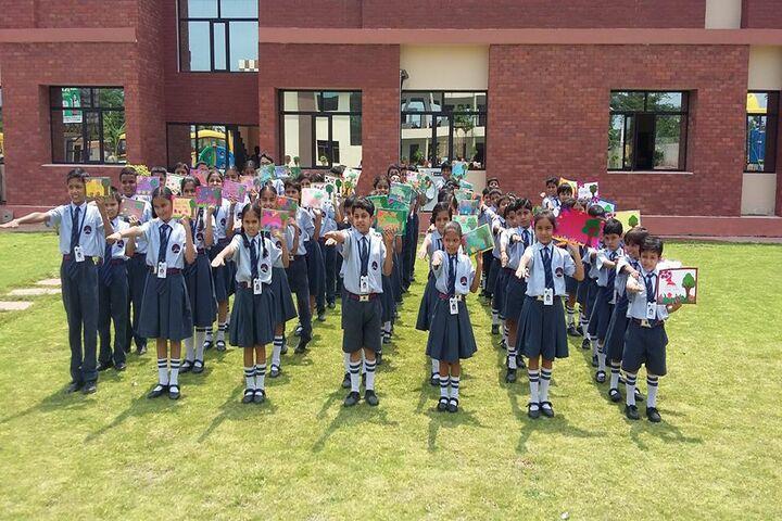 Krishna International School-Tree Plantation