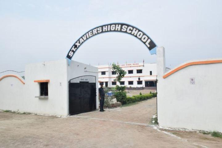 St Xaviers High School-Gate View