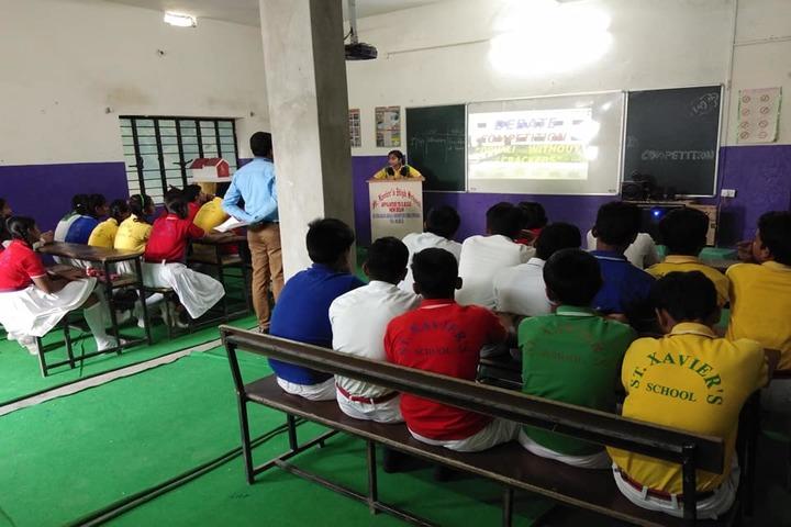 St Xaviers High School-Workshops
