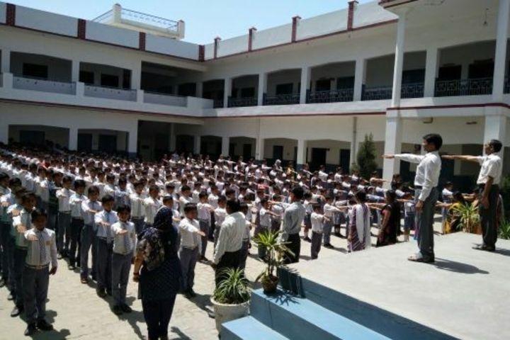 Krishna Public School-Assembly