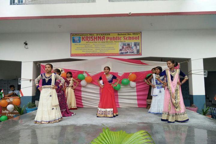 Krishna Public School-Dance