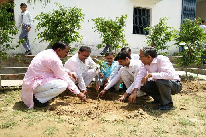 Krishna Public School-Plantation