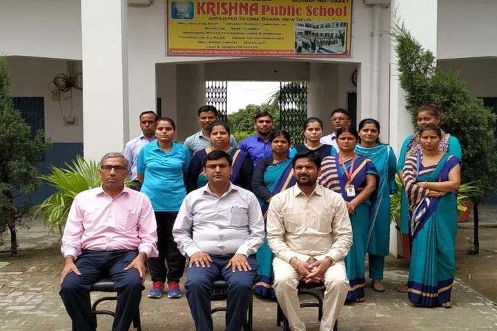 Krishna Public School-Teachers
