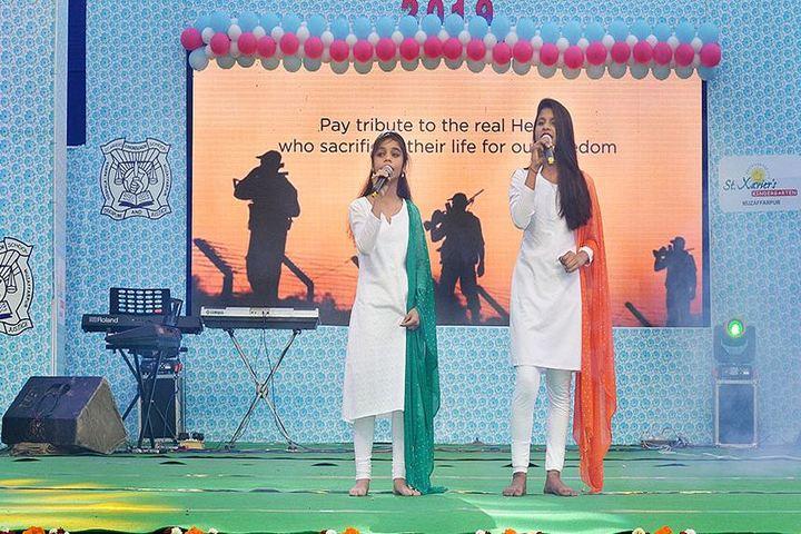 St Xaviers Junior Senior School-Singing