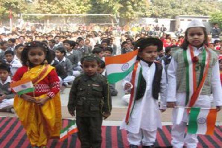 Kusum Goel Dr Santosh Saraswati Vidya Mandir-Republic Day