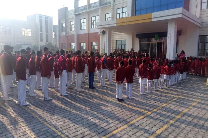 Kusum International Academy-Morning-Assembly