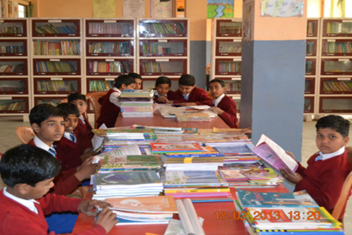 Kusum Pulic School-Library