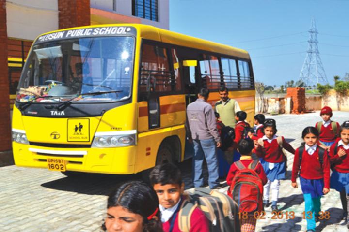 Kusum Pulic School-Transport