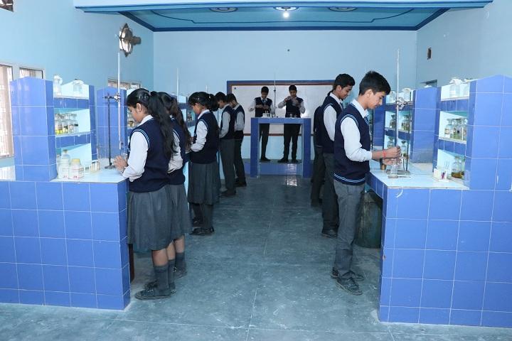 L N Public School-Chemistry Lab