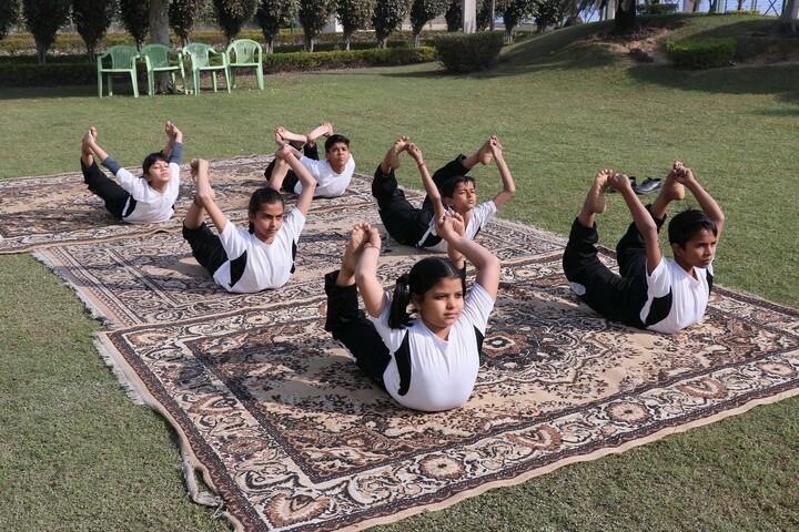 L N Public School-Yoga