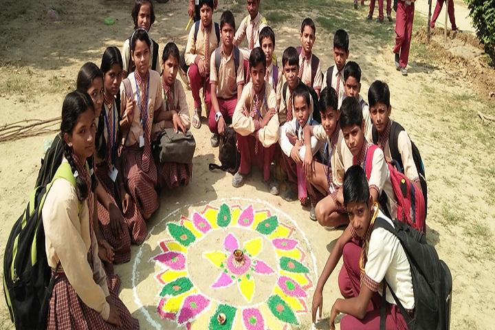 L S S National Public School-Rangoli Event