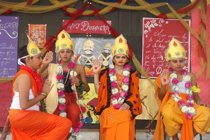 L K International School-Ramayana Event