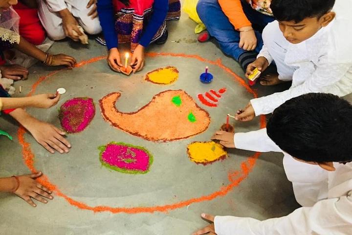 La Matina School-Rangoli Event
