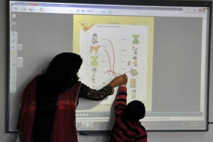 Lakshya Singapore International School-Digital Classroom