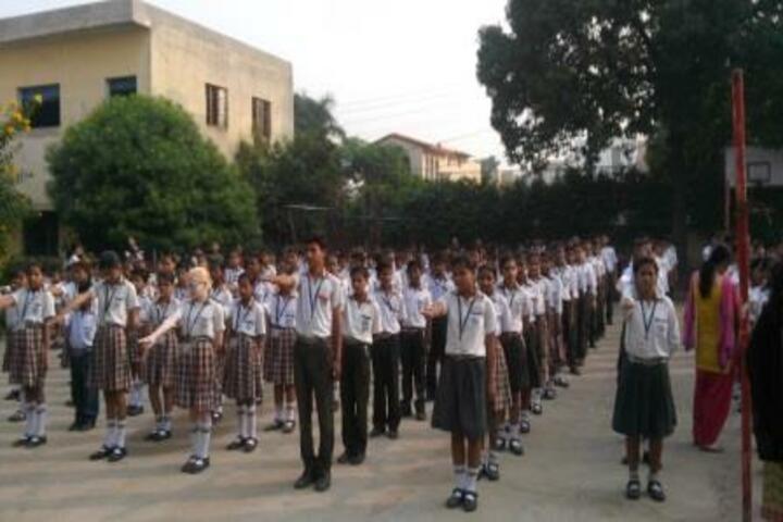 Lal Bahadur Shastri Sainik Secondary School-Morning Assembly