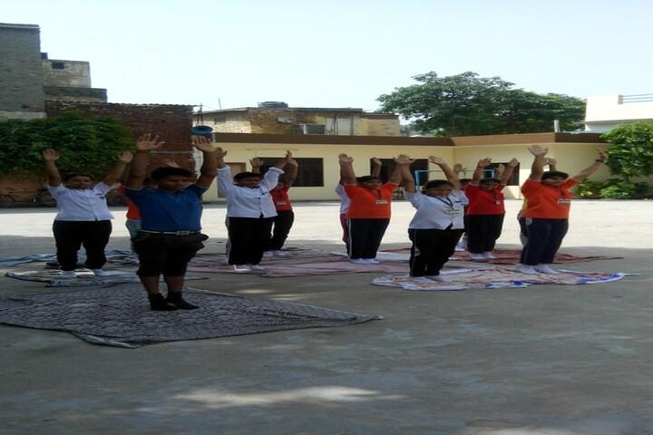 Lal Bahadur Shastri Sainik Secondary School-Yoga