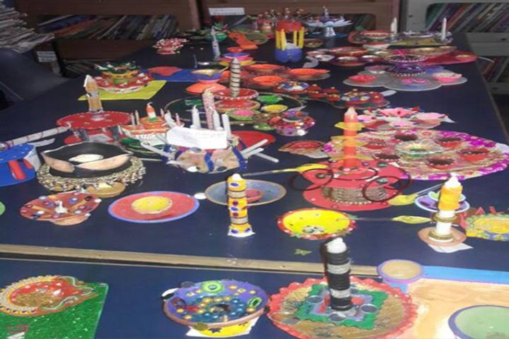 Lala Radhey Shyam Academy-Art-Room