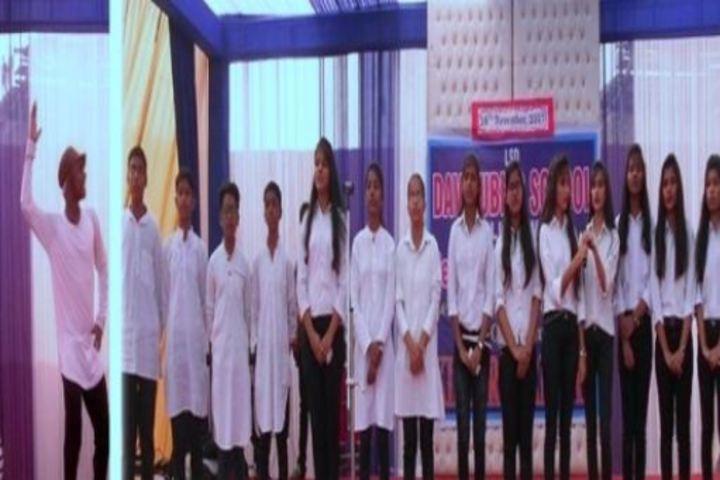 Lala Shambu Dayal Dav Public School-Group Singing