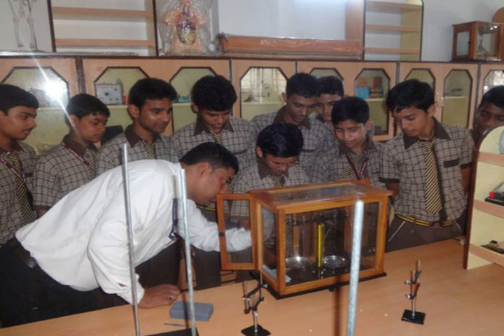 St Paul Public School-Physics