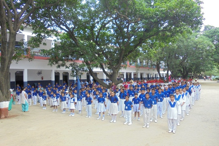 Little Flower Convent School-Morning-Assembly