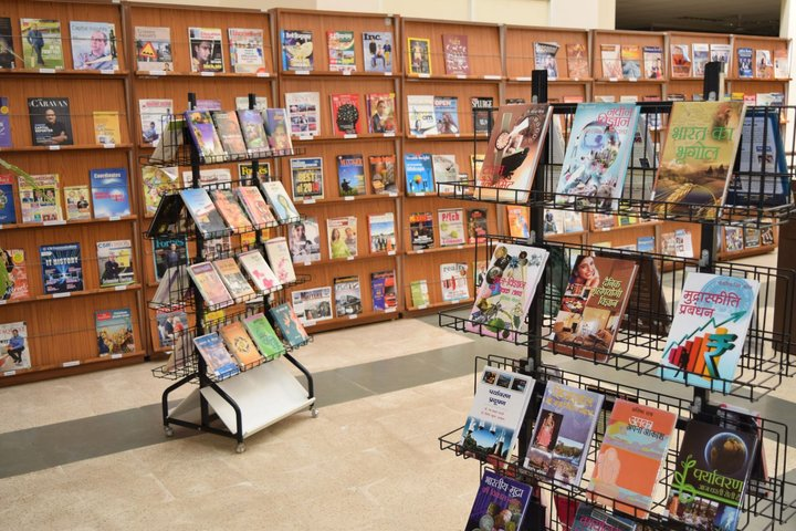 Little Flower International School-Books Exhibition