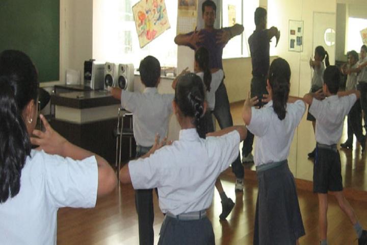 Lotus Valley International School-Dance Class