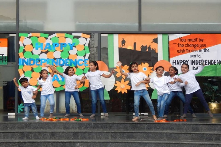 Lotus Valley International School-Independence day