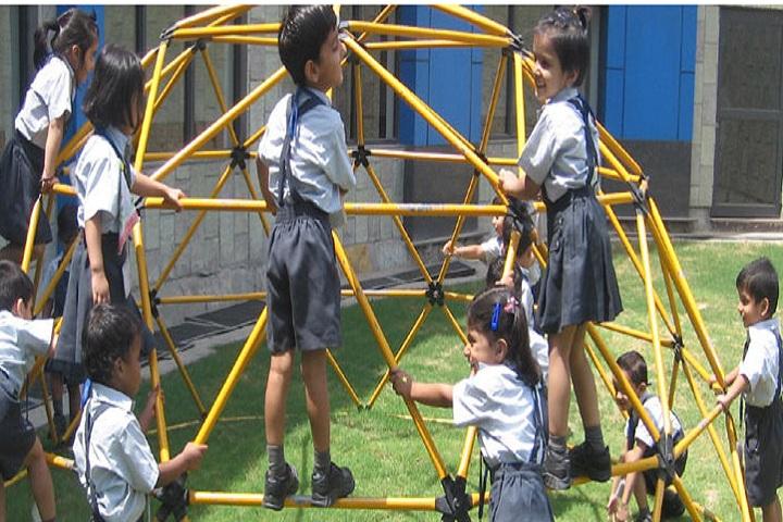 Lotus Valley International School-Kids Play Area