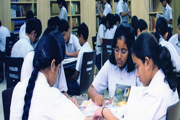 Lotus Valley International School-Library
