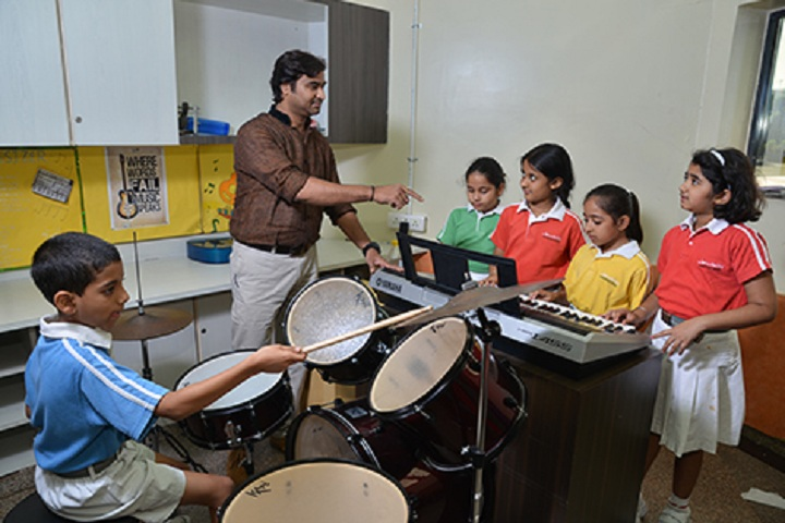 Lotus Valley International School-Music Class