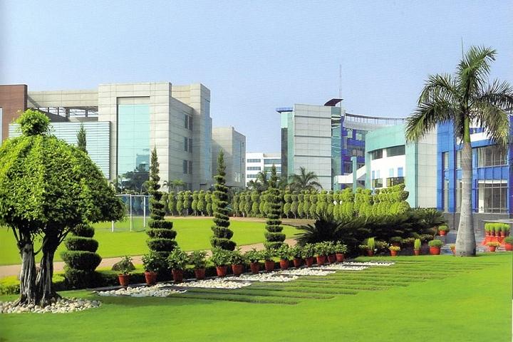 Lotus Valley International School-School Building