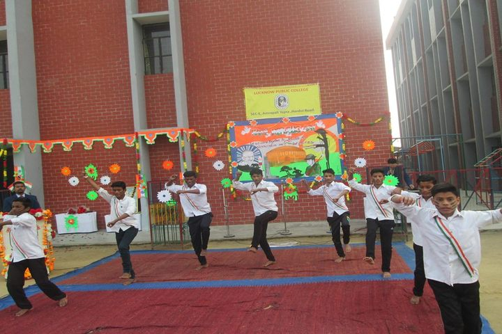Lucknow Public College-Independence day