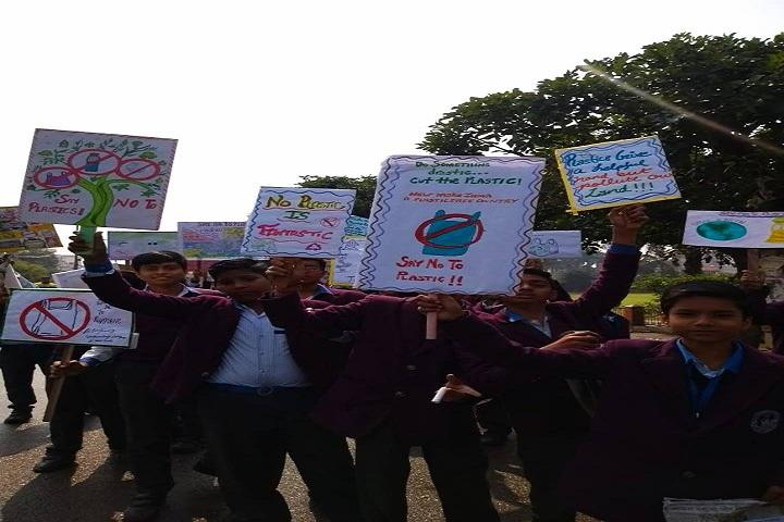 Lucknow Public School-Rally Against Plastic