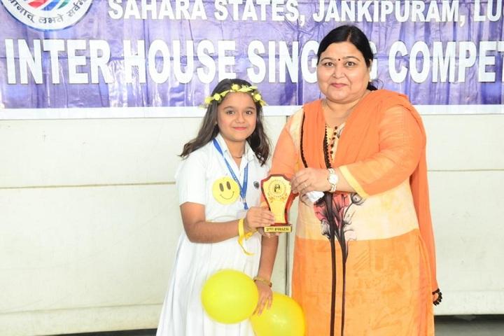 Lucknow Public School-Award Receiving