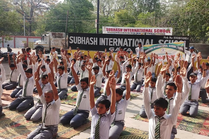 Subhash International School-Yoga