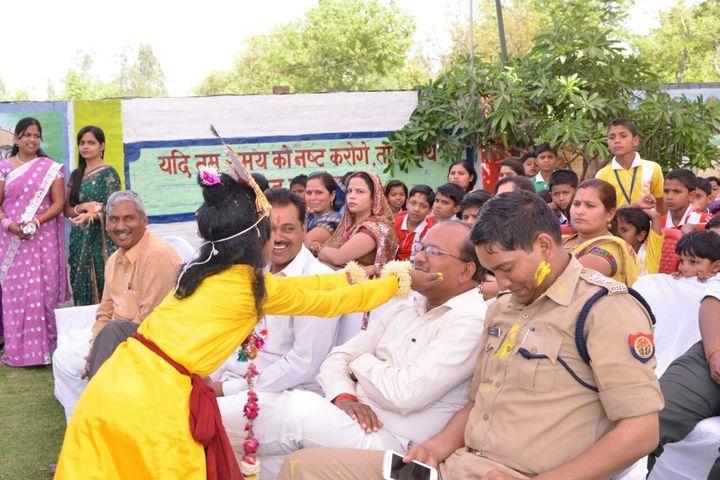 Lucky Public School-Holi Celebrations