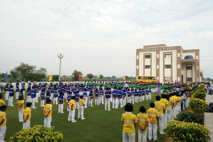 Lucky Public School-Morning Assembly