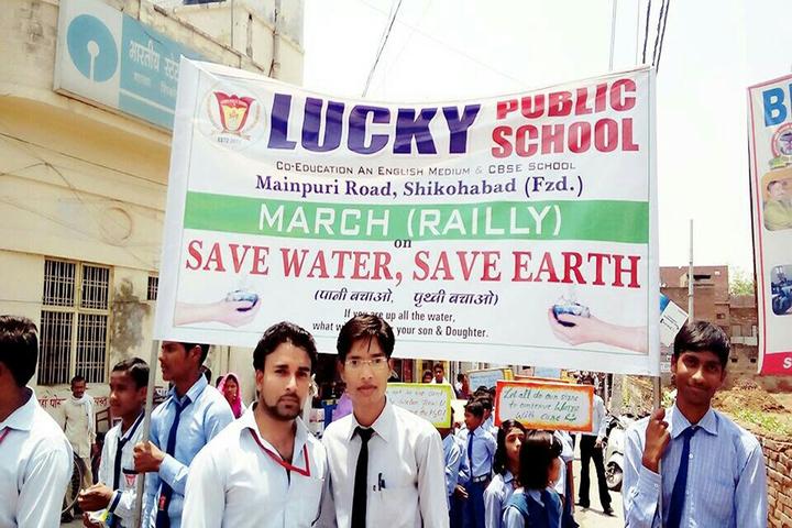Lucky Public School-Rally Campaign